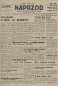 Naprzód : organ Polskiej Partji Socjalistycznej. 1934, nr292