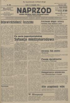 Naprzód : organ Polskiej Partji Socjalistycznej. 1934, nr294 (po konfiskacie nakład drugi)