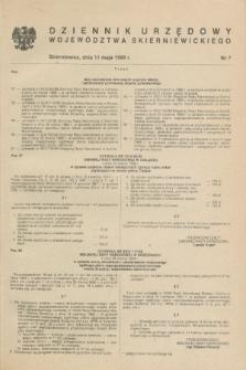 Dziennik Urzędowy Województwa Skierniewickiego. 1988, nr 7 (11 maja)
