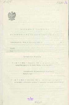 Dziennik Urzędowy Województwa Skierniewickiego. 1992, nr 1 (8 stycznia)