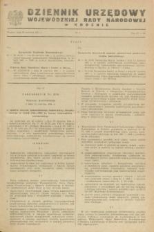 Dziennik Urzędowy Wojewódzkiej Rady Narodowej w Krośnie. 1981, nr 4 (30 czerwca)