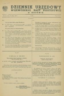 Dziennik Urzędowy Wojewódzkiej Rady Narodowej w Krośnie. 1983, nr 3 (28 lutego)