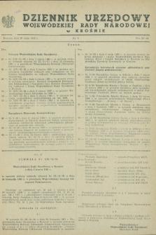 Dziennik Urzędowy Wojewódzkiej Rady Narodowej w Krośnie. 1983, nr 4 (20 maja)