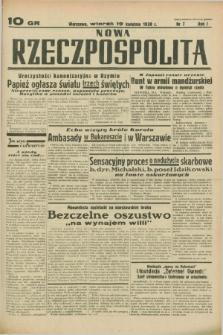 Nowa Rzeczpospolita. R.1, nr 7 (19 kwietnia 1938)