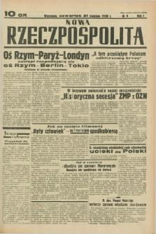 Nowa Rzeczpospolita. R.1, nr 9 (21 kwietnia 1938)