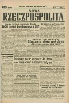 Nowa Rzeczpospolita. R.1, nr 10 (23 kwietnia 1938)