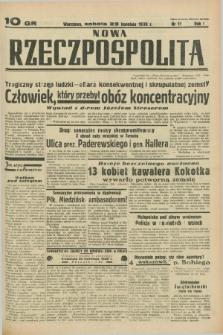Nowa Rzeczpospolita. R.1, nr 11 (23 kwietnia 1938)