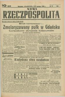 Nowa Rzeczpospolita. R.1, nr 12 (24 kwietnia 1938)