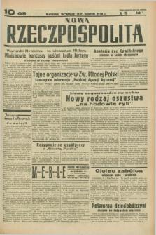 Nowa Rzeczpospolita. R.1, nr 15 (27 kwietnia 1938)