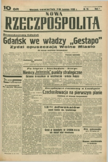 Nowa Rzeczpospolita. R.1, nr 16 (28 kwietnia 1938)