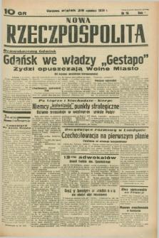 Nowa Rzeczpospolita. R.1, nr 16 (29 kwietnia 1938)