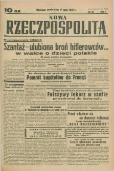Nowa Rzeczpospolita. R.1, nr 24 (7 maja 1938)