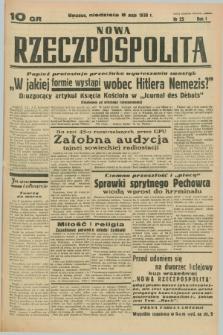 Nowa Rzeczpospolita. R.1, nr 25 (8 maja 1938)