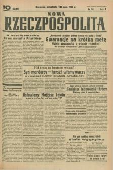 Nowa Rzeczpospolita. R.1, nr 30 (13 maja 1938)