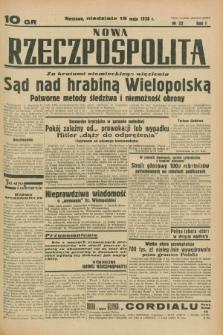 Nowa Rzeczpospolita. R.1, nr 32 (15 maja 1938)