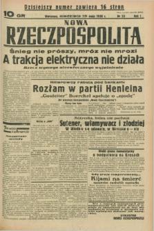 Nowa Rzeczpospolita. R.1, nr 33 (15 maja 1938)