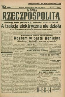 Nowa Rzeczpospolita. R.1, nr 33 (15 maja 1938) drugi nakład po konfiskacie