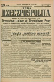 Nowa Rzeczpospolita. R.1, nr 35 (17 maja 1938)