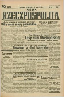 Nowa Rzeczpospolita. R.1, nr 37 (17 maja 1938)