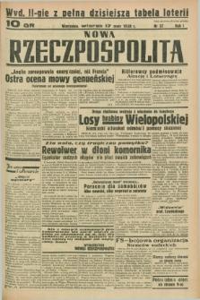 Nowa Rzeczpospolita. R.1, nr 37 (17 maja 1938) wyd. II