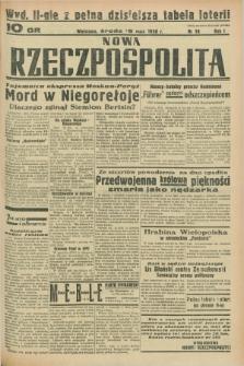 Nowa Rzeczpospolita. R.1, nr 38 (18 maja 1938) wyd. II