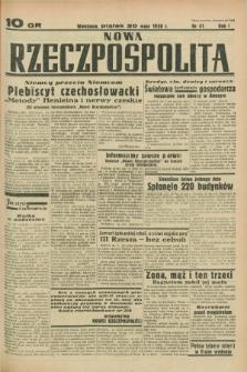 Nowa Rzeczpospolita. R.1, nr 41 (20 maja 1938)