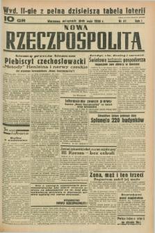Nowa Rzeczpospolita. R.1, nr 41 (20 maja 1938) wyd. II