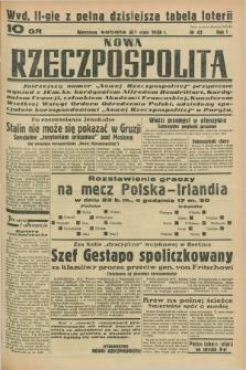 Nowa Rzeczpospolita. R.1, nr 42 (21 maja 1938) wyd. II