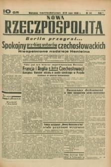 Nowa Rzeczpospolita. R.1, nr 44 (23 maja 1938)