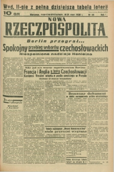 Nowa Rzeczpospolita. R.1, nr 44 (23 maja 1938) wyd. II