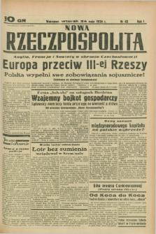 Nowa Rzeczpospolita. R.1, nr 45 (24 maja 1938)