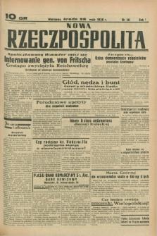 Nowa Rzeczpospolita. R.1, nr 46 (25 maja 1938)