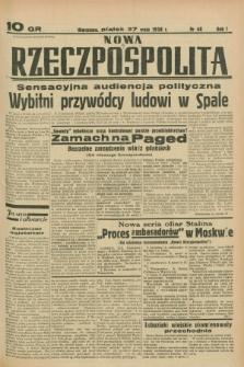 Nowa Rzeczpospolita. R.1, nr 48 (27 maja 1938)
