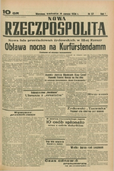 Nowa Rzeczpospolita. R.1, nr 57 (4 czerwca 1938)