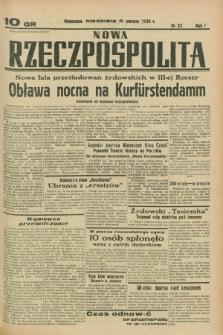Nowa Rzeczpospolita. R.1, nr 57 (5 czerwca 1938)