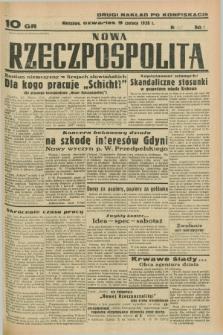 Nowa Rzeczpospolita. R.1, nr 60 (9 czerwca 1938) drugi nakład po konfiskacie