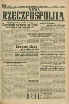 Nowa Rzeczpospolita. R.1, nr 62 (9 czerwca 1938)