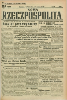 Nowa Rzeczpospolita. R.1, nr 67 (14 czerwca 1938)