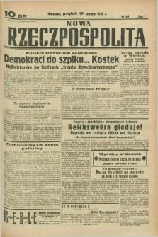 Nowa Rzeczpospolita. R.1, nr 69 (17 czerwca 1938)