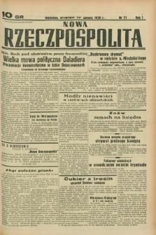 Nowa Rzeczpospolita. R.1, nr 71 (17 czerwca 1938)