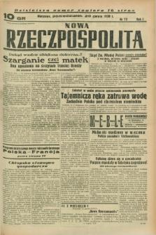 Nowa Rzeczpospolita. R.1, nr 73 (20 czerwca 1938)