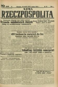 Nowa Rzeczpospolita. R.1, nr 76 (22 czerwca 1938)