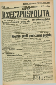 Nowa Rzeczpospolita. R.1, nr 77 (23 czerwca 1938) wyd. II