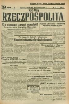 Nowa Rzeczpospolita. R.1, nr 78 (24 czerwca 1938) wyd. II