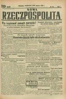 Nowa Rzeczpospolita. R.1, nr 78 (25 czerwca 1938)