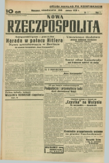 Nowa Rzeczpospolita. R.1, nr 80 (26 czerwca 1938) drugi nakład po konfiskacie