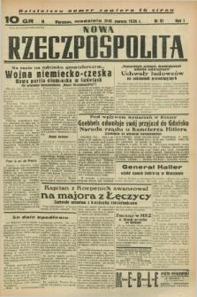 Nowa Rzeczpospolita. R.1, nr 81 (26 czerwca 1938)