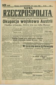 Nowa Rzeczpospolita. R.1, nr 82 (27 czerwca 1938)