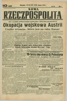Nowa Rzeczpospolita. R.1, nr 82 (28 czerwca 1938)