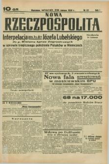 Nowa Rzeczpospolita. R.1, nr 83 (28 czerwca 1938)